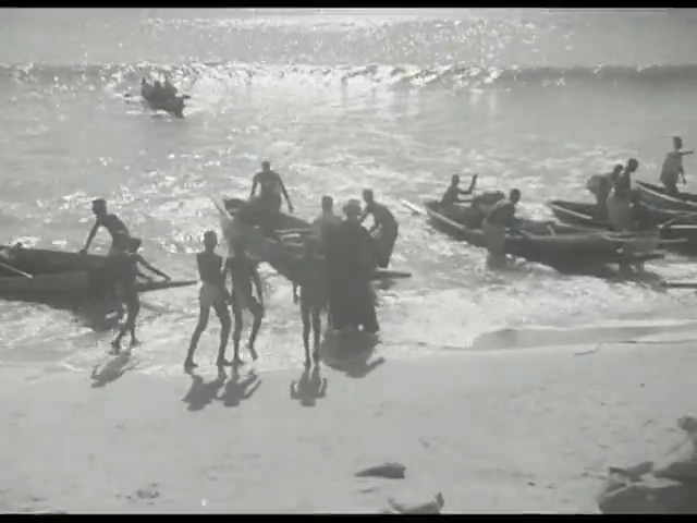 Lettre d'une missionnaire au Gabon en 1948